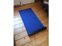 Classic Blue Yoga Mat