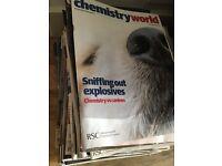 Chemistry World magazines
