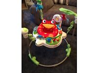 FISHER PRICE RAINFOREST ACTIVITY BOUNCER