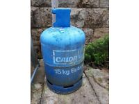 15kg Calor Gas Butane Bottle Half Full