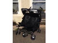 Maclaren twin techno stroller- double buggy