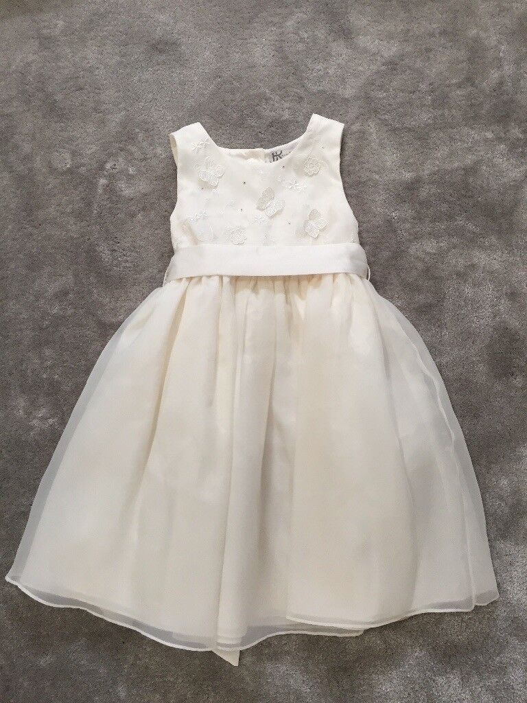 29bbfd9cc90c Girls Ivory Bridesmaid Dresses - 2 ages 5-6   1 age 3-4