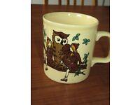 Vintage Brownie Guide mug