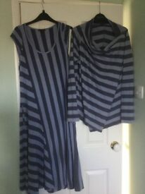 Oska Dress & Cardigan
