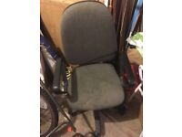 Desk chair for office or computer.