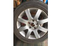 Set of 4 alloy wheels