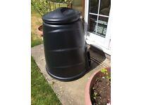Black compost converter/bin.