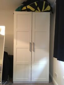 IKEA White Wardrobe For Sale