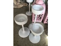 Blomster ikea white candle holders