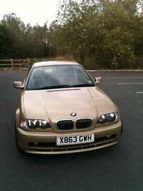 BMW 320 ci Se Gold coupe 118 000