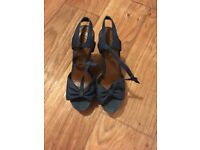 Ladies Wedge Shoes (size 6)