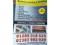 Borderline roofing and building