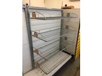 Gondola add on Crisp Rack Shop Retail Display Shelves