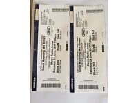 2 tickets for Good Mourning Mrs Brown 24th June Metro Arena.