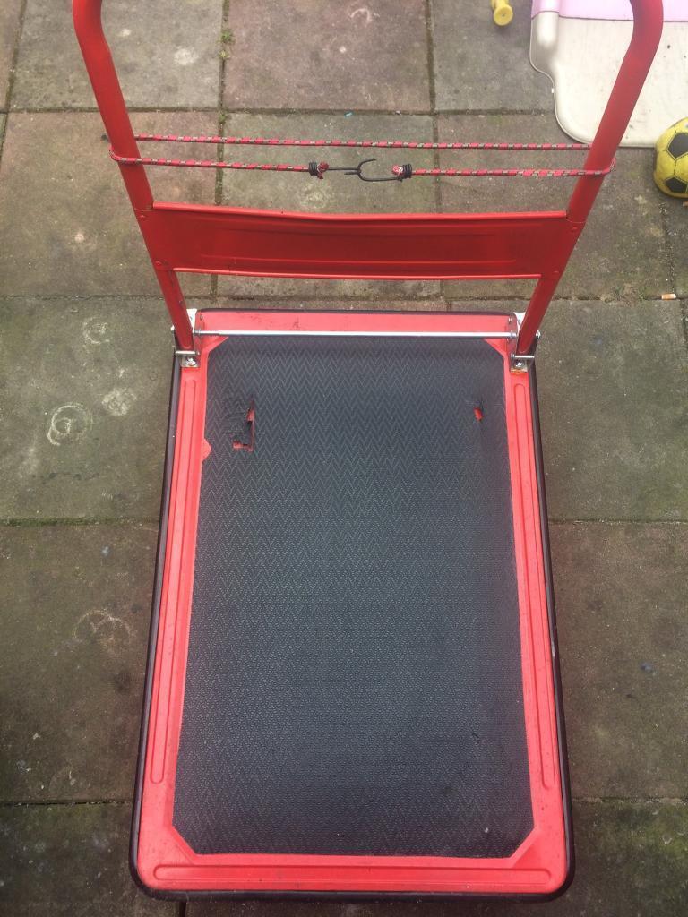 Platform Hand Trolley Truck Sack Cart Flat Bed Folding Heavy Duty Transport