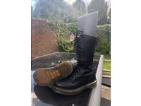 Ladies Dr Marten long boots (Size 5)
