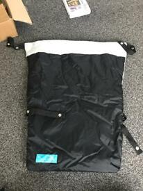 Stay out buggy blanket - used. Universal removable cosy toes