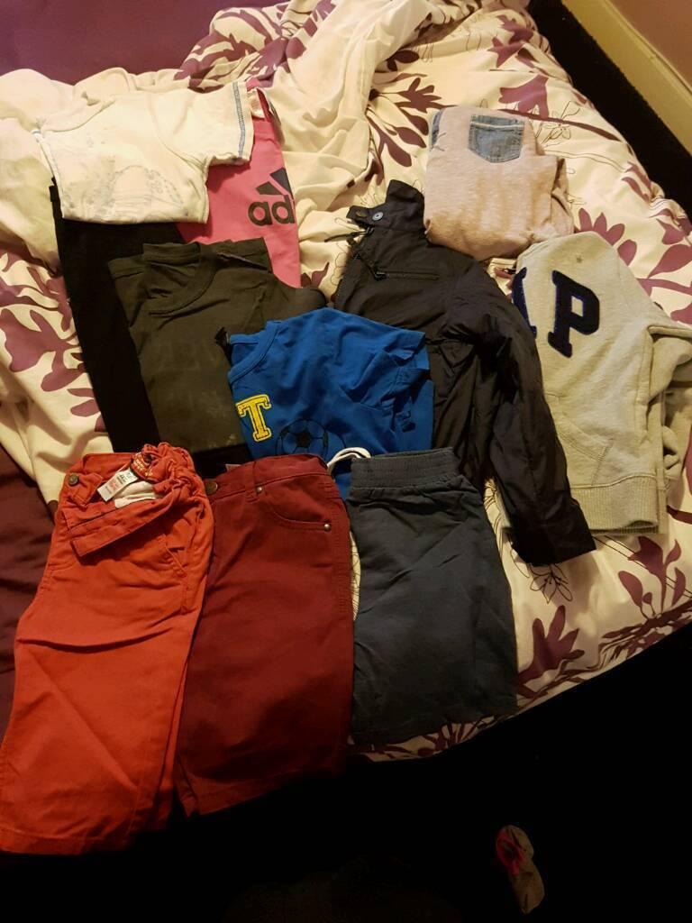 Aged 4-5yrs boys clothing bundle