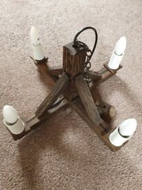 Ceiling Lights & 2 Side Lights - Excellent Clean Condition - Dimmable Bulbs Included