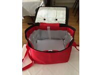 FULLY INSULATED FOOD DELIVERY BAG - AVAILABLE TO BUY FROM EBAY UK