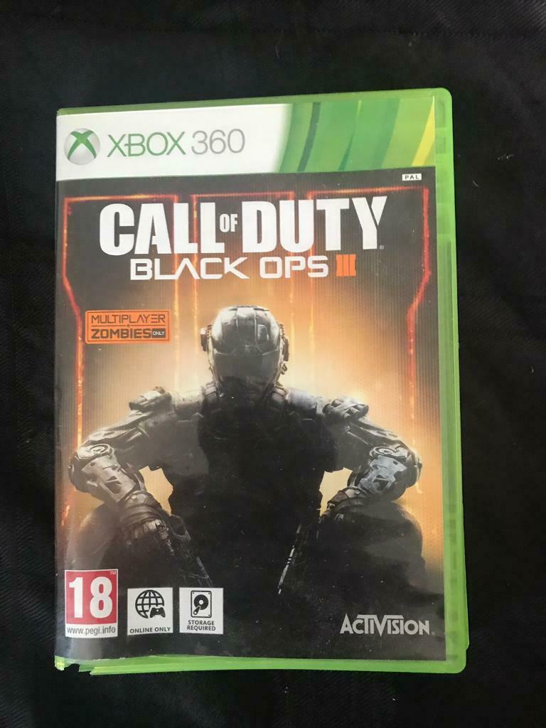 Xbox 360 Game Call Of Duty Black Ops In Sheffield South