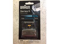 Braun Series 5 Shaver: foil and cutter