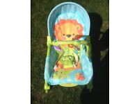 Baby rocker bouncer fisher price