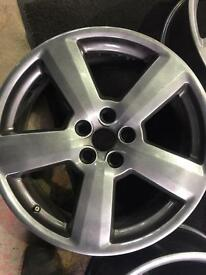 "18"" Audi alloy wheels"