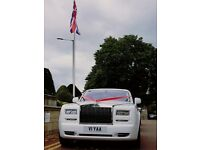 Chauffeur Driven Rolls Royce Bentley Ferrari Hire