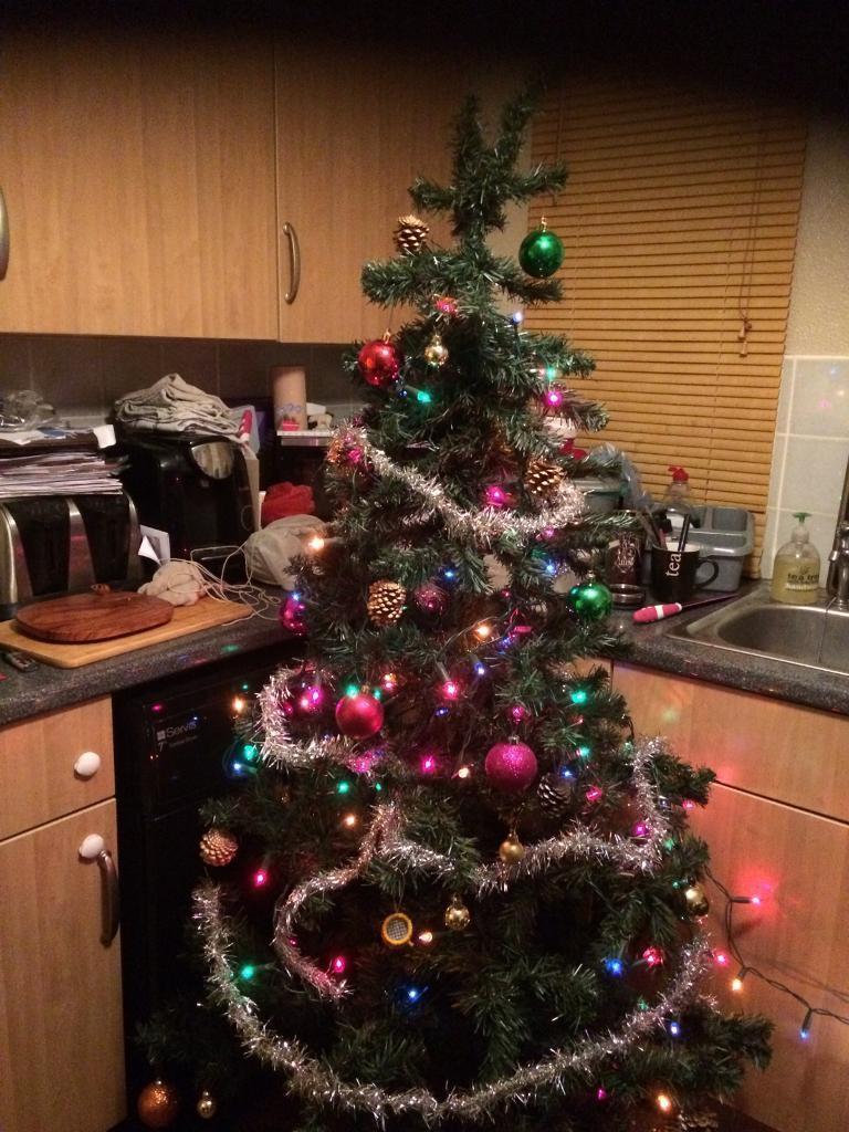 Xmas tree sold