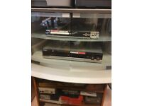 HEAVY DUTY TV STAND/ VIDEO CABINET WITH DOUBLE DOOR FOR SALE