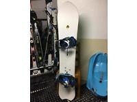 Burton Fish Limited Edition Snowboard and Bindings