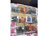 Warhammer White Dwarf Magazines, 11 in total