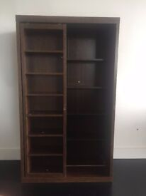 Wood cabinet, great for toy or book storage
