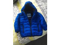 NEXT Blue Winter Coat. Age 1.5-2 Years