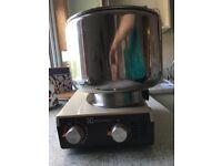 Electrolux assistant stand food mixer with accessories