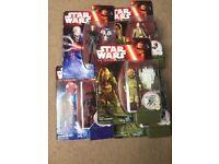 Set of Lego Star Wars figures BNIB