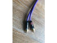 Various High Quality Audio cables for sale