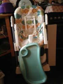 Mummy and Pappas highchair