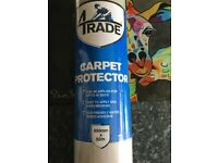 Carpet protector 600mm x 50m (NEW)