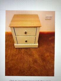 Soft Grey Bedside Cabinet By Kingstown
