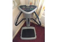 Gadget:Fit Power Vibration Plate Trainer Excellent condition complete with straps and manual