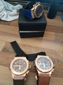 Three hublot 5 star top quality watch's open to offers want no less then 4 ton for the three