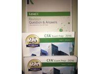 CFA Level 1 Practice Exam Books