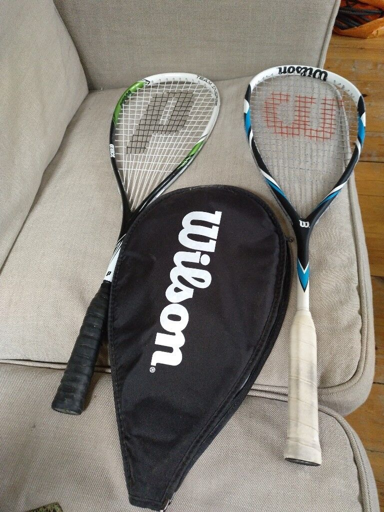 2 Squash Rackets pretty new