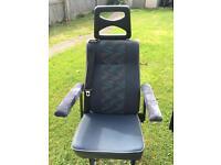 2 rear removable van seats