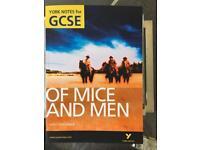 GCSE Of Mice & Men