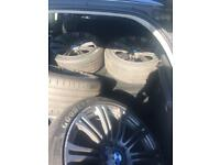 BMW 3 series alloys fits others including Vauxhall insignia