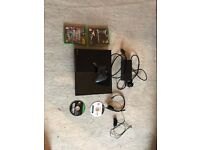 xbox one great condition with games and mic