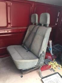 Volkswagen transporter rear seats